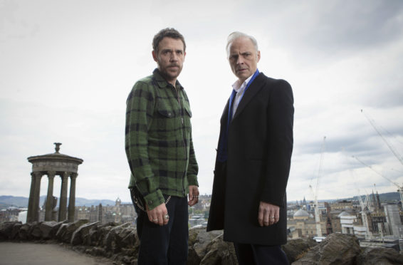 Guilt stars Jamie Sives and Mark Bonnar remember their schooldays as they return to old stomping ground for TV drama - Sunday Post
