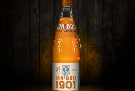 The limited edition Irn-Bru 1901 is to hit the shops in Scotland from December 2