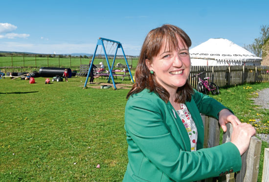 Minister for Childcare and Early Years Maree Todd.