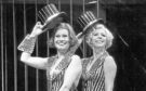 Antonia Ellis and Jenny Logan (right) in the musical Chicago