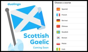 Duolingo issues call for contributors and participants as languages app prepares to launch Scottish Gaelic course