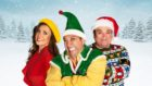 The cast of Elf.