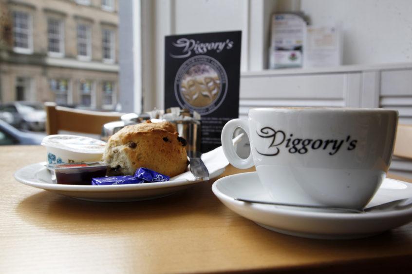 Diggory's in Haddington, East Lothian