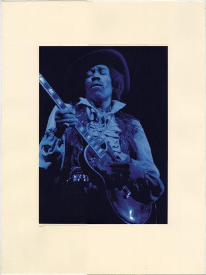 Jimi Hendrix, Blue