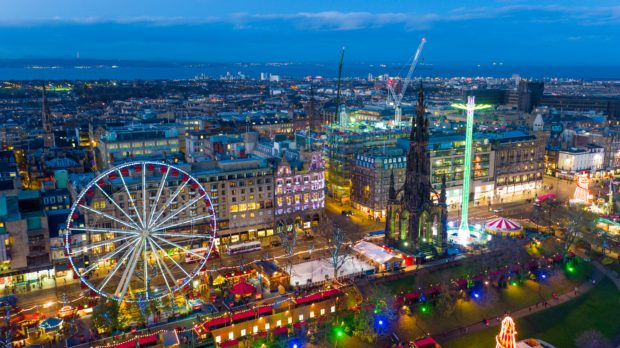 Edinburgh's Christmas: All you need to know ahead of Light Night as revamped event moves to Royal Mile - Sunday Post