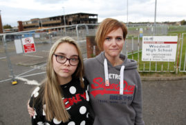 We fear children's future going up in smoke because of school blaze chaos