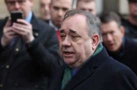Alex Salmond vows to 'vigorously' defend himself as he denies sexual assault charges