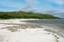 The stunning beaches of the Silver Sands of Morar