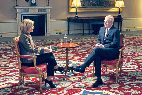 Prince Andrew sat down with Emily Maitlis to talk about the Epstein scandal.