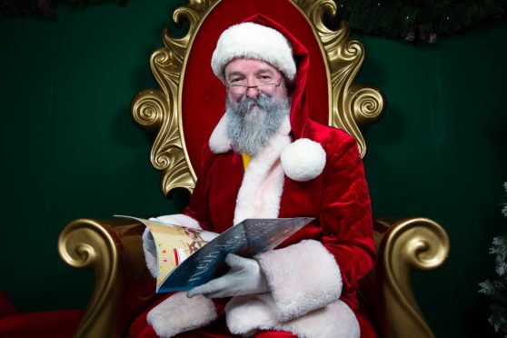 Santa, aka Iain Harris, 56, from Paisley