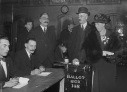 Voting in the 1923 General Election