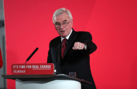 Shadow Chancellor John McDonnell says Jeremy Corbyn will be pedalling into Downing Street on Friday morning