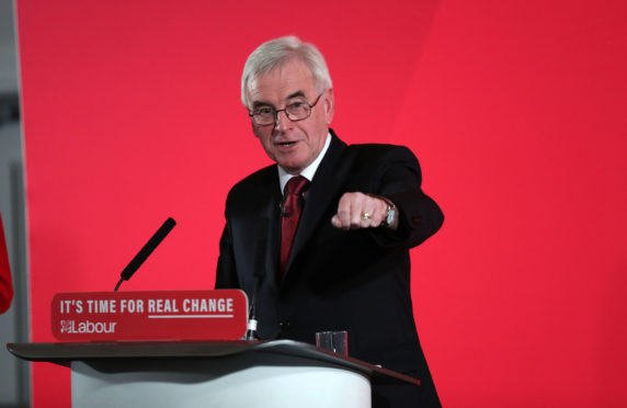 Shadow Chancellor John McDonnell says Jeremy Corbyn will be pedalling into Downing Street on Friday morning - Sunday Post