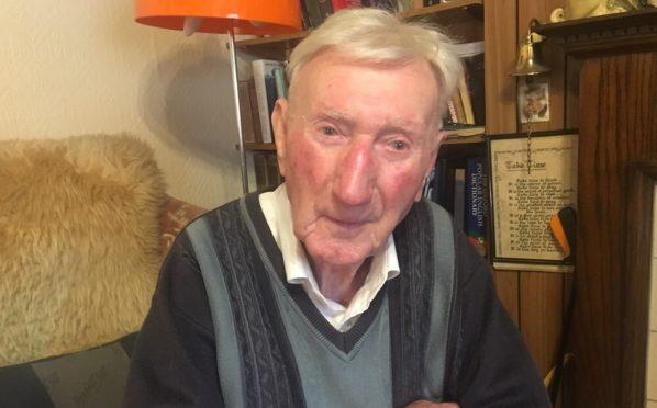 Jimmy Johnstone, 98, from Aberdeen
