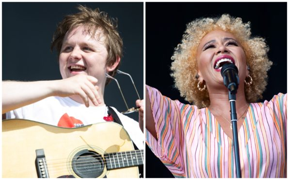 Lewis Capaldi and Emeli Sandé