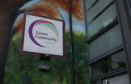 The Simon Community offices in Glasgow.