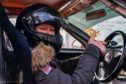 Speed queen Corinne: Our columnist gets back behind the wheel at the Kames motor sport circuit in East Ayrshire