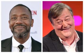 Sir Lenny Henry and Stephen Fry