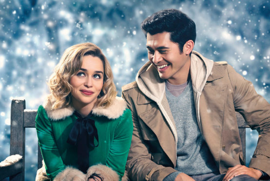 Emilia Clarke and Henry Golding in the festive rom-com inspired by the 1984 hit Last Christmas