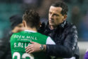 Jack Ross with Scott Allan