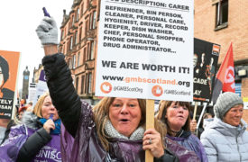 Firm behind Scots' £500m equal pay settlement suspends all work