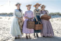From left, Emma Watson, Florence Pugh, Saoirse Ronan and Eliza Scanlen star in the latest Little Women movie