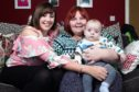 Andrea Green with daughter Stacey and grandson Noah