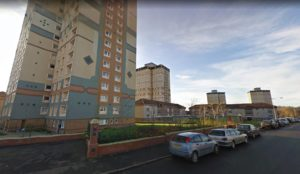 Man arrested after police carry out controlled explosion on suspicious device at Motherwell towerblock