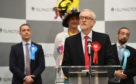 Labour leader Jeremy Corbyn announced he'd step down following the party's disastrous election results