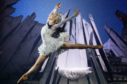 Constance Devernay stars as the Snow Queen in the Scottish Ballet production