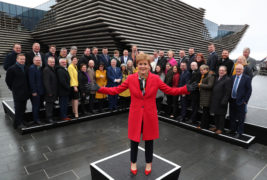 Nicola Sturgeon will write to Boris Johnson within days demanding right to stage a second independence referendum