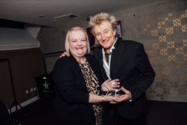 VIDEO: Rod Stewart superfan's dreams come true as she presents star with special SSE Live Award