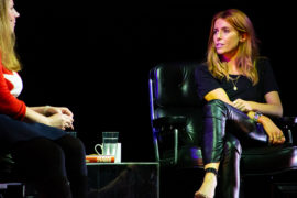 Stacey Dooley on stage