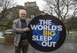 Brian Cox on global sleep out event: Homelessness and food banks are a cancer that we've come to accept… we can't allow that to happen