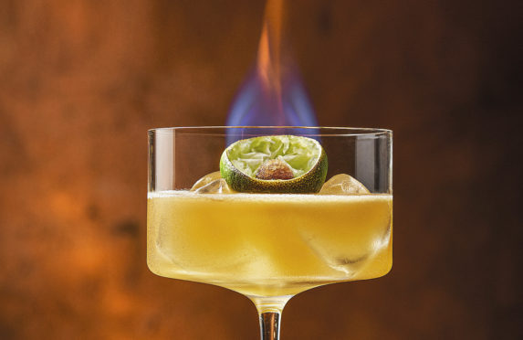 Christmas Recipes Flaming Sidecar Cocktail Sunday Post