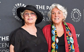 Sharon Gless and Tyne Daly at the Women in TV Gala in Los Angeles in 2017