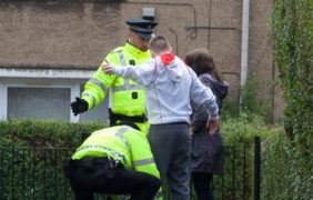 Experts say stop and search is damaging Scottish teens' trust in police as concerns raised over force targeting children as young as seven