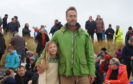 Ben Fogle with daughter Iona