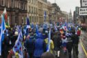 Independence march, Glasgow