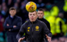 Celtic manager Neil Lennon has his eyes on the prize