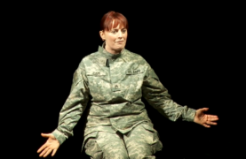 Behind the lines: Actress to tell soldier's story of sexual assault within the ranks in US capital show