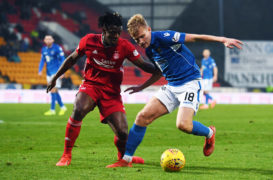 Half-term report card, St Johnstone: Balancing act is back on an even keel for Wright