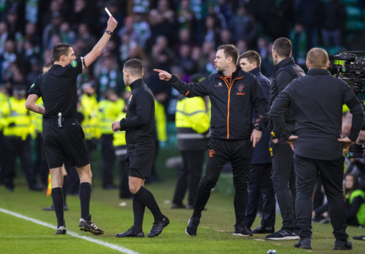 Rangers hit with Scottish FA charge over Celtic clash and join Hibs in the dock over Easter Road touchline flashpoint - Sunday Post