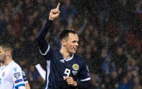 Dundee United's Mark Reynolds insists Lawrence Shankland's lack of Premiership goals shouldn't stop him leading Scotland line