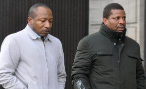 Conmen Sidney Ochouba, left, and Busayo Oladapo